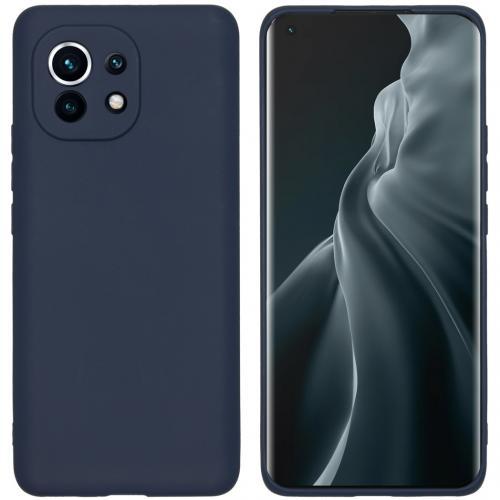 Color Backcover voor de Xiaomi Mi 11 - Donkerblauw