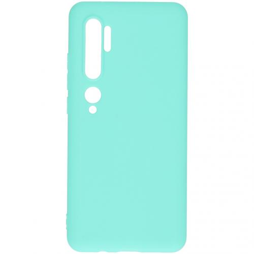 Color Backcover voor de Xiaomi Mi Note 10 - Mintgroen