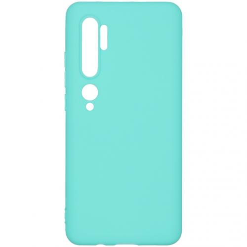 Color Backcover voor de Xiaomi Mi Note 10 Pro - Mintgroen