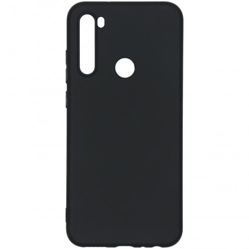 Color Backcover voor de Xiaomi Redmi Note 8T - Zwart