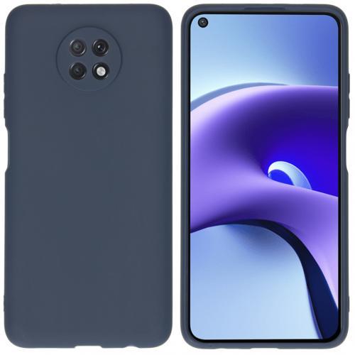 Color Backcover voor de Xiaomi Redmi Note 9T (5G) - Donkerblauw