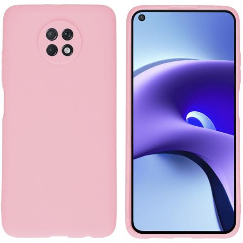 Color Backcover voor de Xiaomi Redmi Note 9T (5G) - Roze