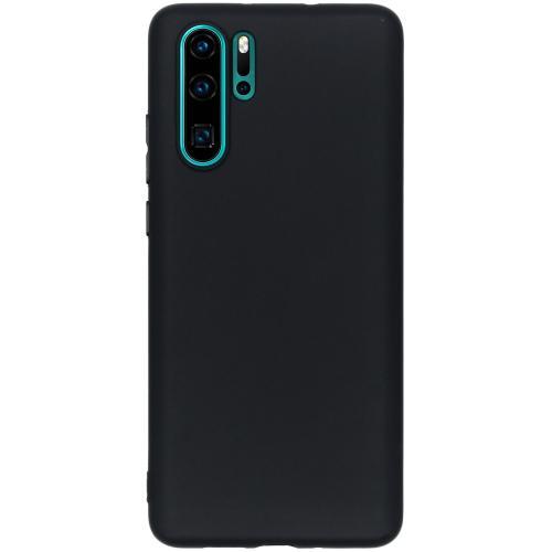 Color Backcover voor Huawei P30 Pro - Zwart