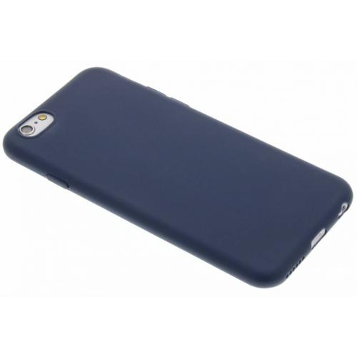Color Backcover voor iPhone 6 / 6s - Donkerblauw