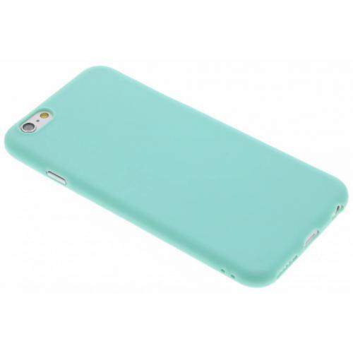 Color Backcover voor iPhone 6 / 6s - Mintgroen