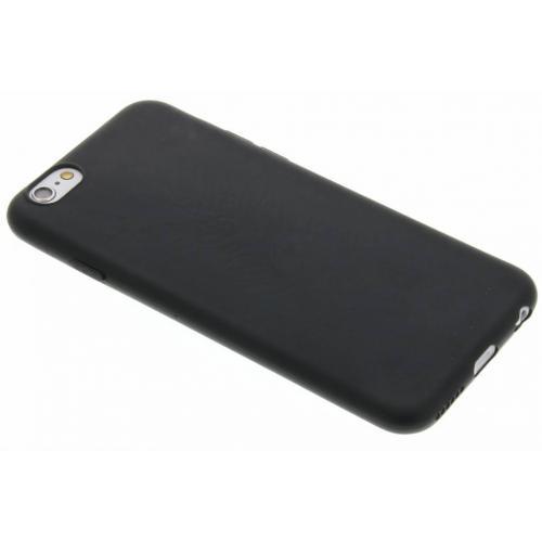 Color Backcover voor iPhone 6 / 6s - Zwart