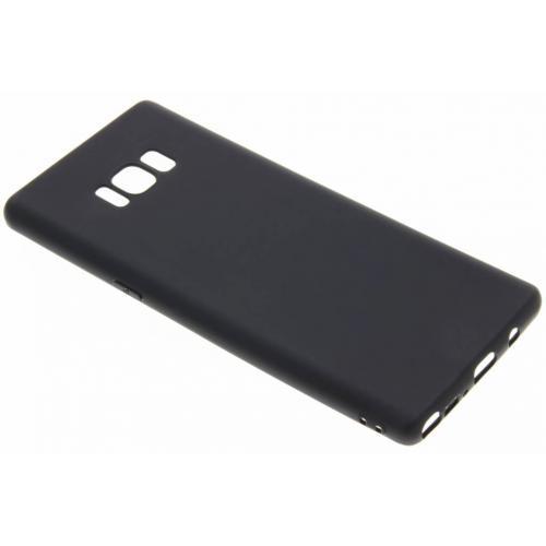 Color Backcover voor Samsung Galaxy Note 8 - Zwart