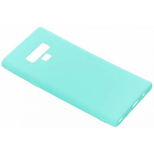 Color Backcover voor Samsung Galaxy Note 9 - Mintgroen