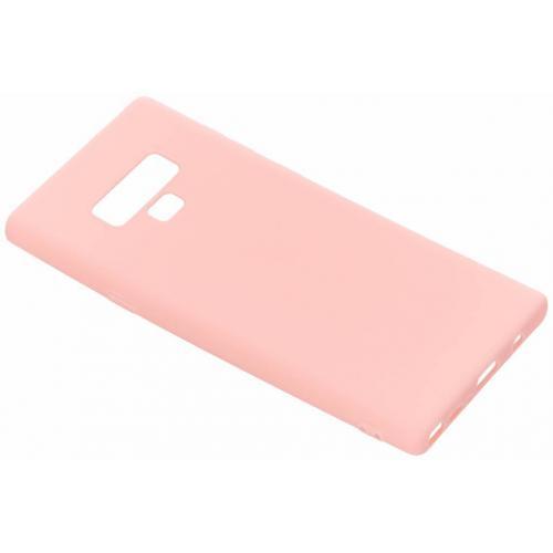 Color Backcover voor Samsung Galaxy Note 9 - Roze