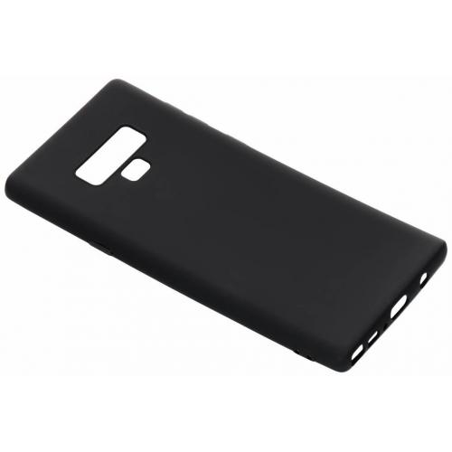 Color Backcover voor Samsung Galaxy Note 9 - Zwart