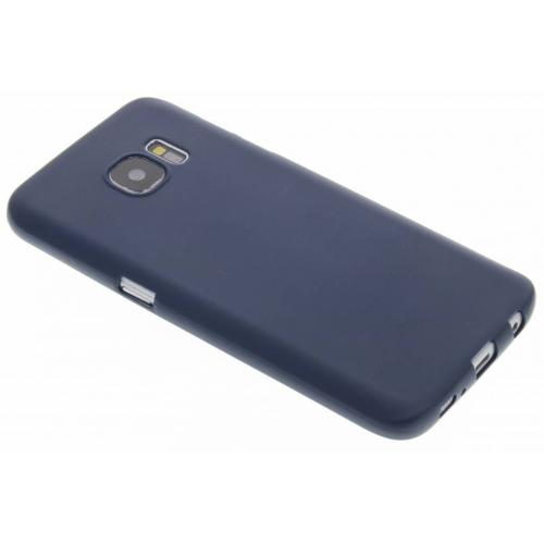 Color Backcover voor Samsung Galaxy S7 - Donkerblauw