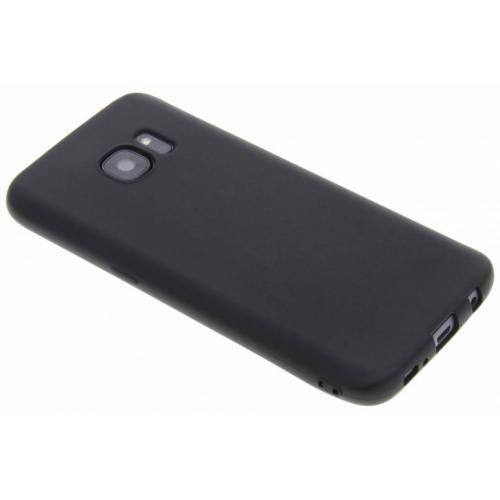 Color Backcover voor Samsung Galaxy S7 - Zwart