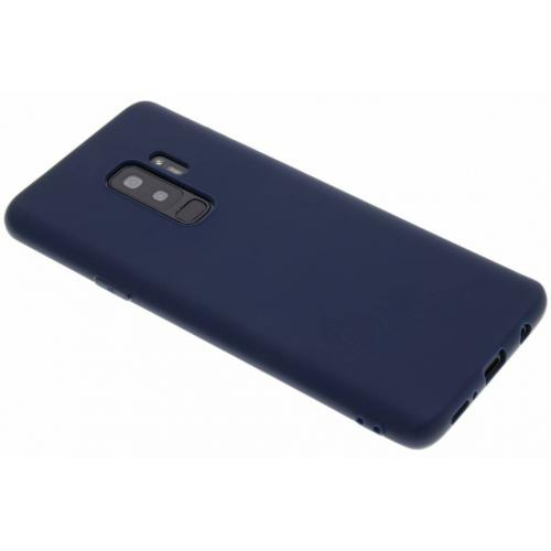 Color Backcover voor Samsung Galaxy S9 Plus - Donkerblauw