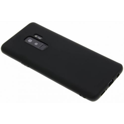 Color Backcover voor Samsung Galaxy S9 Plus - Zwart