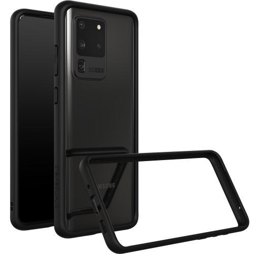 CrashGuard Bumper voor de Samsung Galaxy S20 Ultra - Zwart