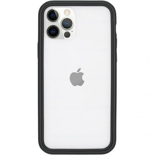 CrashGuard NX Bumper voor de iPhone 12 (Pro) - Zwart
