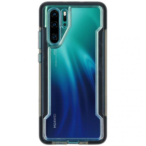 Defense Clear Backcover voor de Huawei P30 Pro - Zwart