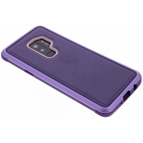 Defense Lux Backcover voor Samsung Galaxy S9 Plus - Paars