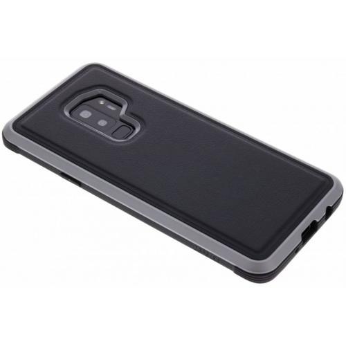Defense Lux Backcover voor Samsung Galaxy S9 Plus - Zwart