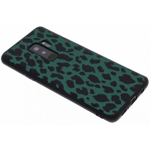 Design Backcover Color voor Samsung Galaxy S9 Plus - Panter Groen