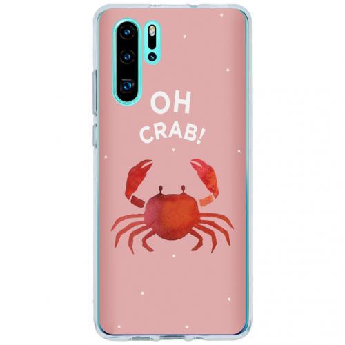Design Backcover voor de Huawei P30 Pro - Oh Crab