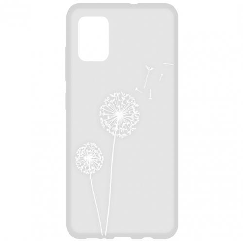 Design Backcover voor de Samsung Galaxy A51 - Paardenbloem
