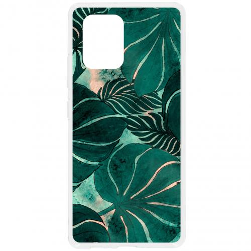 Design Backcover voor de Samsung Galaxy S10 Lite - Monstera