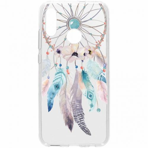 Design Backcover voor Honor 10 Lite - Dromenvanger Feathers