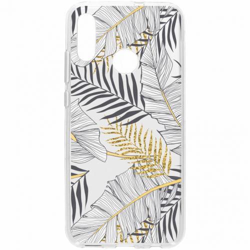 Design Backcover voor Honor 10 Lite - Glamour Botanic