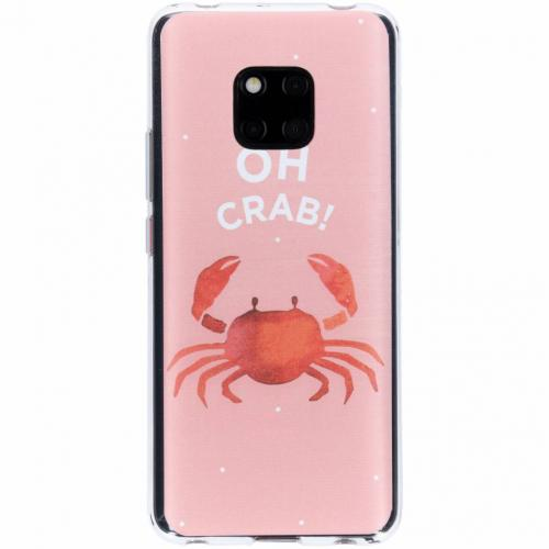 Design Backcover voor Huawei Mate 20 Pro - Oh Crab
