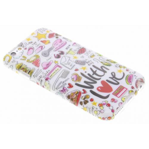 Design Backcover voor iPhone 6 / 6s - With love