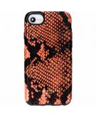Design Backcover voor iPhone 8 / 7 / 6s / 6 - Snake Orange