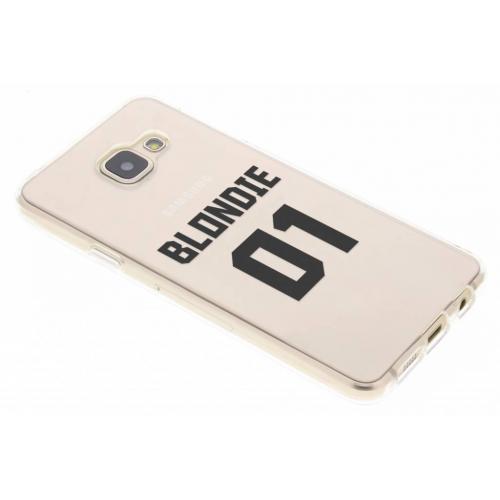 Design Backcover voor Samsung Galaxy A3 (2016) - Blondie