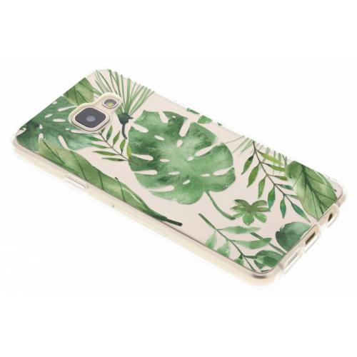 Design Backcover voor Samsung Galaxy A3 (2016) - Monstera Leafs