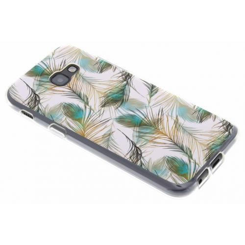 Design Backcover voor Samsung Galaxy A5 (2017) - Pauw Goud