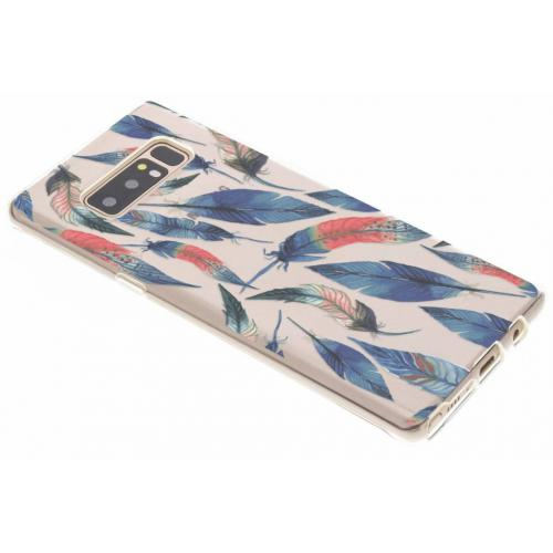 Design Backcover voor Samsung Galaxy Note 8 - Ibiza Feather