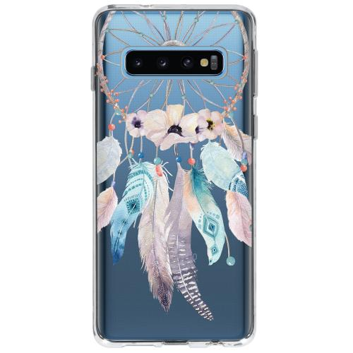 Design Backcover voor Samsung Galaxy S10 - Dromenvanger Feathers