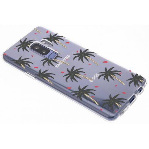 Design Backcover voor Samsung Galaxy S9 Plus - Palmbomen