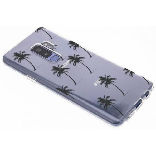 Design Backcover voor Samsung Galaxy S9 Plus - Palmtrees