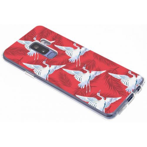 Design Backcover voor Samsung Galaxy S9 Plus - Vogels
