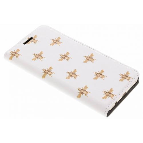 Design Hardcase Booktype voor Samsung Galaxy A3 (2016) - Bijen
