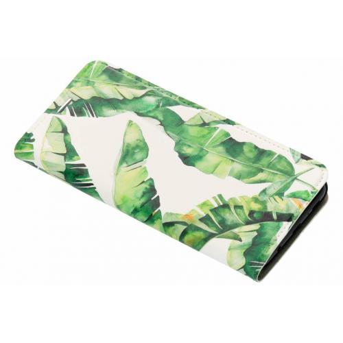 Design Hardcase Booktype voor Samsung Galaxy S9 Plus - Bananaplant
