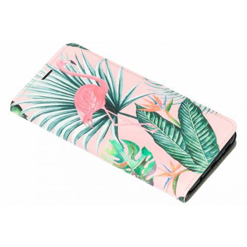 Design Hardcase Booktype voor Samsung Galaxy S9 Plus - Zebra Botanic