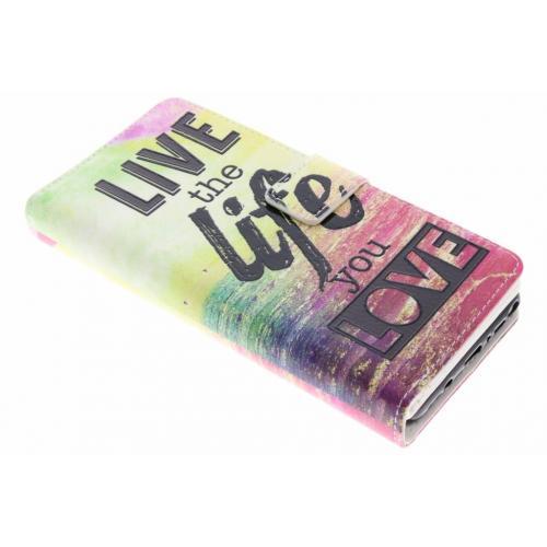 Design Portemonnee 9 slots voor Samsung Galaxy Note 8 - Live the Life