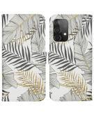 Design Softcase Book Case voor Samsung Galaxy A52 (5G) / A52 (4G) - Glamour Botanic