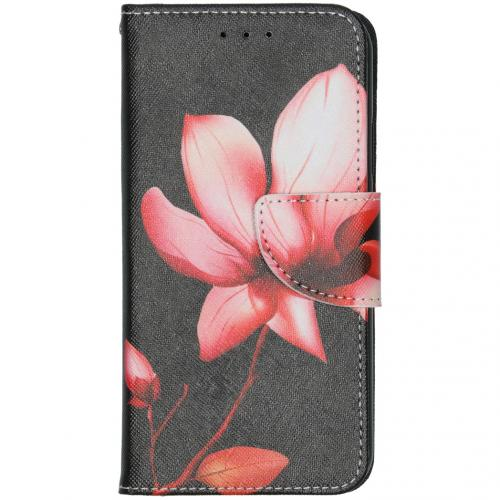 Design Softcase Booktype voor de iPhone 11 - Bloemen
