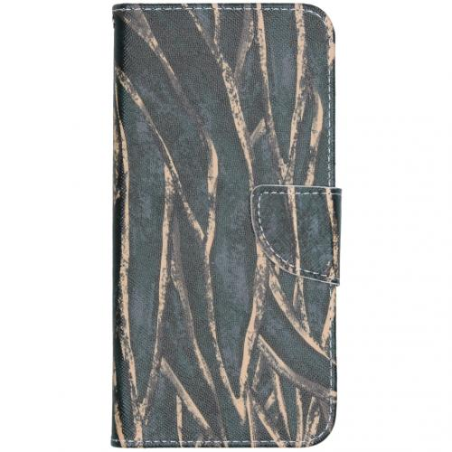 Design Softcase Booktype voor de Nokia 2.3 - Wild Bladeren