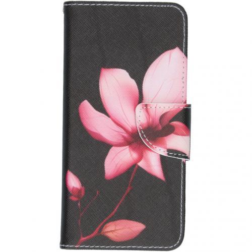 Design Softcase Booktype voor de Samsung Galaxy S20 - Bloemen