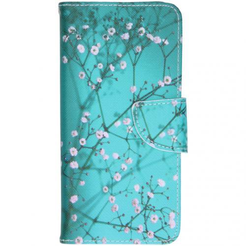 Design Softcase Booktype voor de Samsung Galaxy S20 - Bloesem