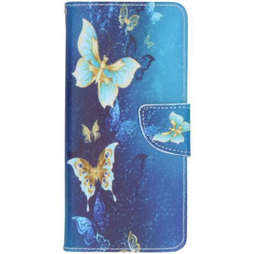 Design Softcase Booktype voor de Samsung Galaxy S20 Plus - Vlinders